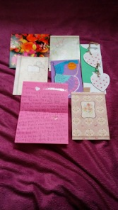Some of my favourite letters and cards :)