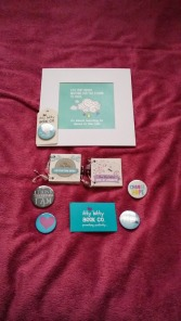Some goodies from 'The Itty Bitty Book Company'