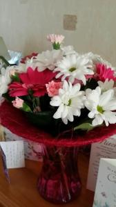 Beautiful flowers from the most wonderful friend :)