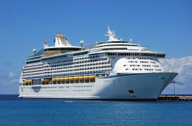 The beautiful cruise ship that I am about to depart on for my adventure around the Mediterreanean