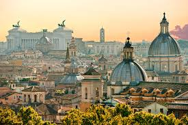 The beautiful city of Rome which I will soon be experiencing