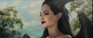 Angelina Jolie in one of her most famous roles, Maleficient