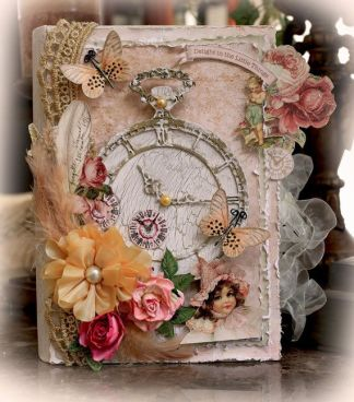 Example of a beautiful memory book on Pinterest