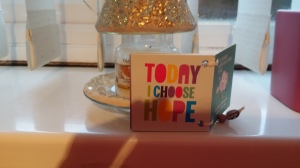 This year I choose hope...