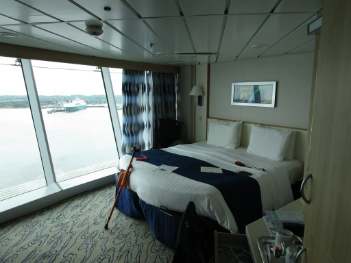 Our cabin on Navigator of the Seas