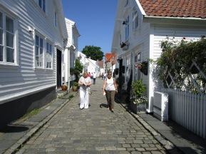 The quaint old town of Olden